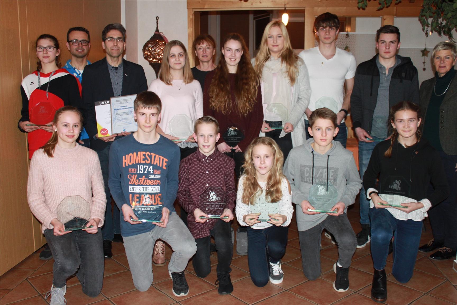 Verleihung Sportabzeichen 2017